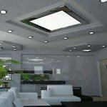 Точечные светильники в проработанном дизайне